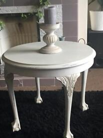 Distressed antique style table