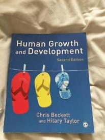 Human Growth and Development Second Edition written by Chris Beckett and Hilary Taylor