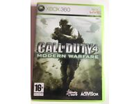 Call of duty 4:Modern Warfare(original) Xbox 360