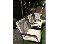 Six seater garden furniture set