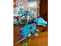 Lego Elves water Dragon