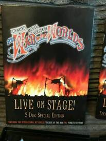 War Of The Worlds (Live On Stage) 2 Disc Special Edition DVD.