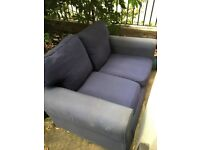 FREE sofa, two seater - blue