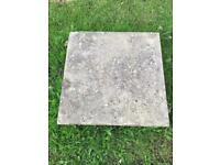 Concrete paving slabs x2