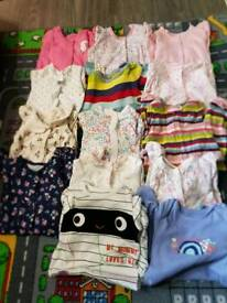 Big baby girl cloth bundle