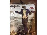 Adults joker costume one size
