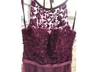 Bordeaux Bridesmaid dress size 8 from Emma Roy