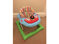 John Lewis baby walker with built in steering wheel - excellent condition