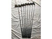 "Set of 8 Wilson 1200 TR ""Tour Trajectory"" mens Golf Irons"