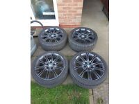 Wheels, 18'' Alloys with tyres BMW 3 M-Sport
