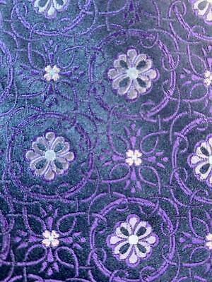 IKE BEHAR NEW YORK DARK BLUE FLOWER SILK NECKTIE TIE HMY0920
