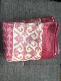 Genuine Turkish blanket (Cotton & Wool )