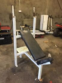 HEAVY DUTY FIXED INCLINE BENCH PRESS