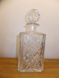 Royal Doulton Lead Crystal Decanter