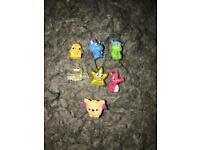Micro moshi monster figures X7