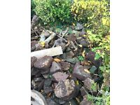 Large stones , ideal for rockery or large hardcore foundations