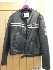 IMMACULATE CONDITION retro Replay leather jacket!