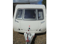 2009 Bessacarr Cameo 525SL 3 Berth Touring Caravan With Dinette And Rear Washroom