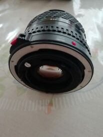 Lens grand angular for Canon camera manual