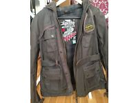 Women's Superdry Blackhawk jacket, size M.