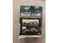 History of British steam DVD box set
