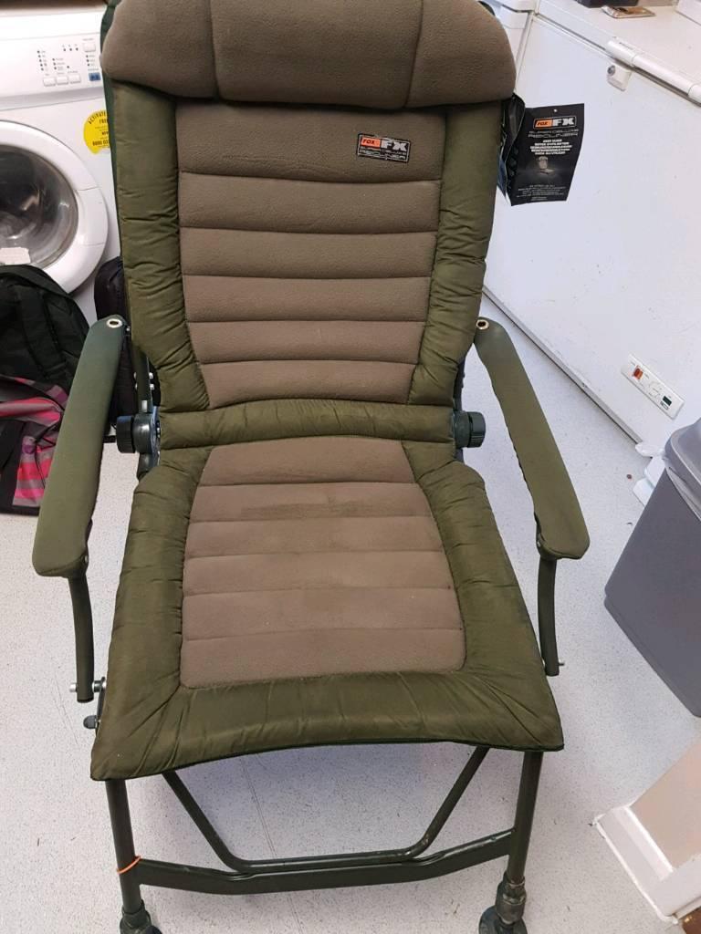 Swell Brand New Fox Fx Super Deluxe Recliner Carp Chair In North West London London Gumtree Machost Co Dining Chair Design Ideas Machostcouk