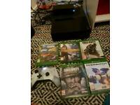Xbox One, Controller, 5 games