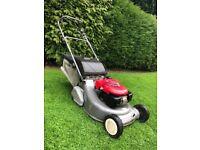 Honda HRD535 BBC self drive roller lawnmower (serviced)