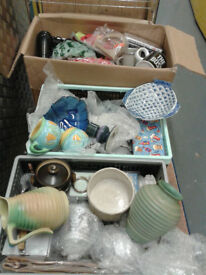 Large Quantity Assorted Items. Ideal for Car Boots, Market Stalls