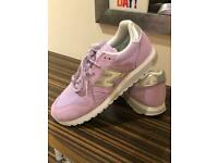 Women's Purple New Balance Shoes - New