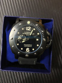 Panerai Ceramica Watch, Cloth Strap *1st Class Postage Available*