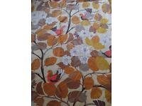 70's patterned single duvet cover