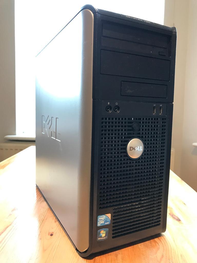 Dell Optiplex 780 Core(TM)2 Duo CPU E7500 @ 2 93 HZ/4GB/160GB/DVDRW Windows  7 Pro | in Bournemouth, Dorset | Gumtree
