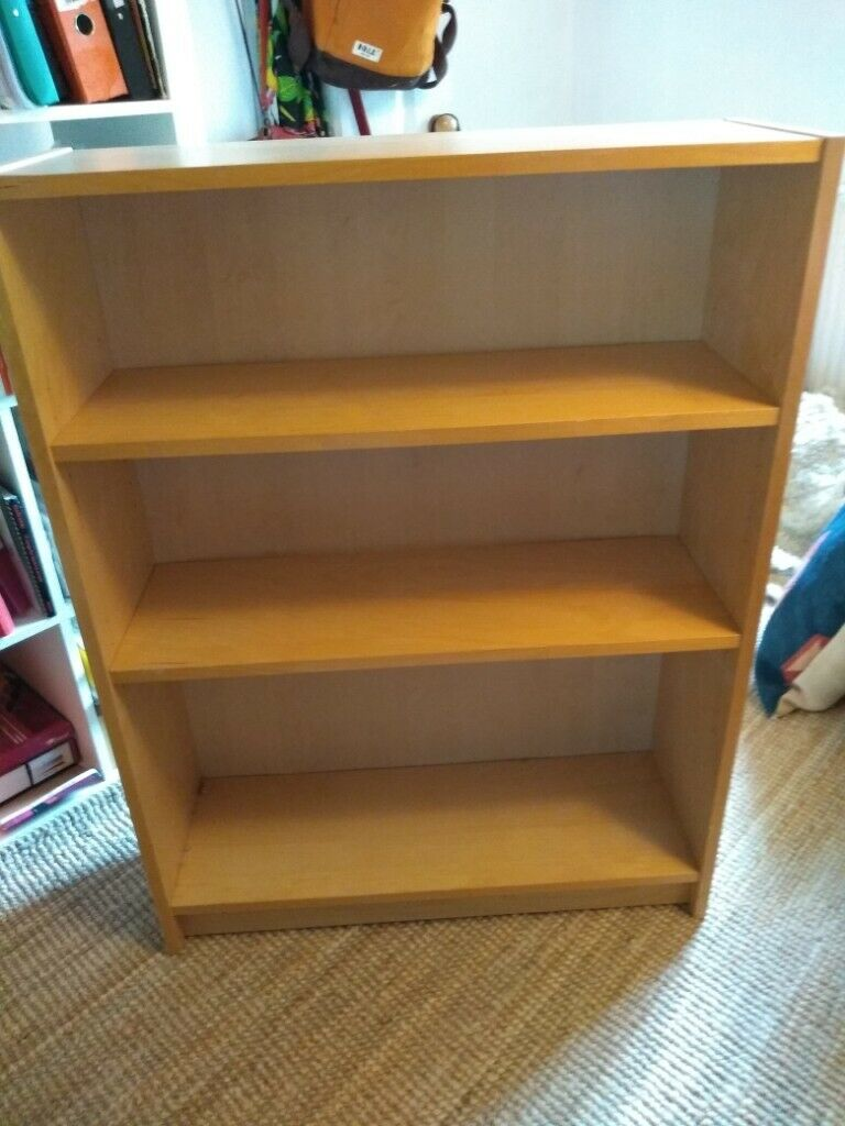 Superb Ikea Pine Look Bookshelf 2 Shelves 105 Tall 80 Wide 27 Deep In Totnes Devon Gumtree Home Interior And Landscaping Elinuenasavecom