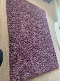 Beautiful shaggy rug from Dunelm