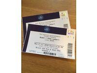 2 x Queen + Adam Lambert Tickets at O2 (Monday 2nd July)