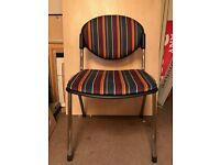Reception/Visitor Chair, No Arms. 5 In Stock.