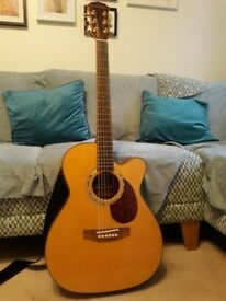 Freshman Apollo 30c electro acoustic guitar