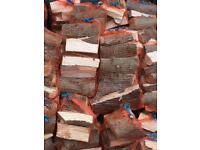 Logs and kindling in nets, buy in bulk!