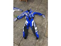 Child's motorcross outfit.