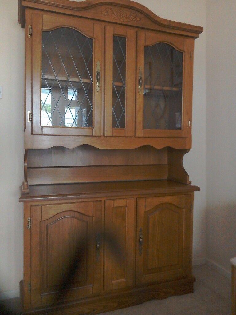 Medium Oak Display Unit