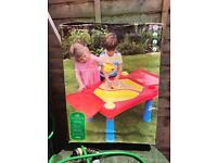 Childs outdoor water/ sand play table