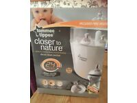 Brand new Tommee tippee electric bottle steriliser