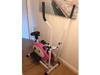Cross trainer / Exercise bike combined - £60