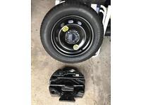 Genuine Ford Fiesta Mk 8/9 Spare wheel, tyre wrench, jack etc
