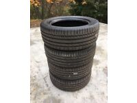 4 X CONINENTAL CONTISPORT CONTACT 255/55 R19 VXL TYRES NEW 255 55 19 255X55X19 RANGE ROVER DISCOVERY