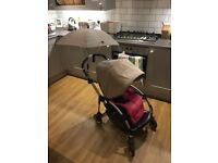 Bugaboo Bee , car seat and accessories
