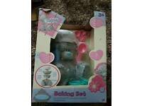 Teddy bear baking set