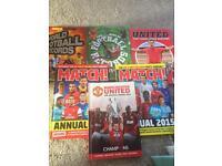 Selection of Hardback Football Books