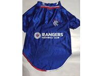 Rangers fc dog shirt fancy dress